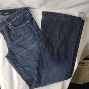 7 For All Mankind Dojo Size 30 Dark Wash Jeans